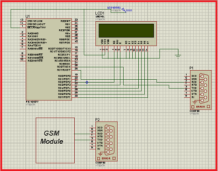 Interfacing GSM module with PIC Microcontroller