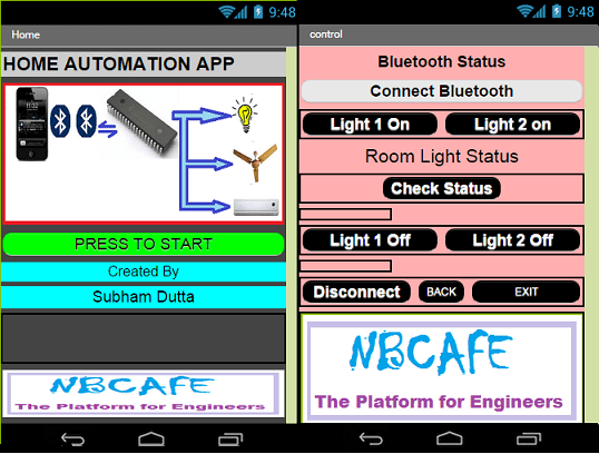 Make your own android Bluecontrol App without coding