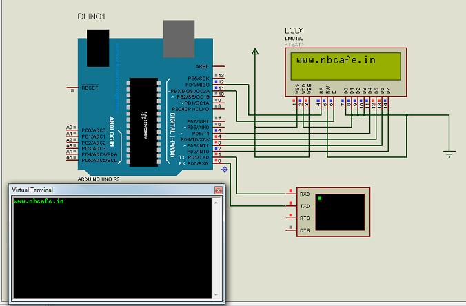 arduino serial communication