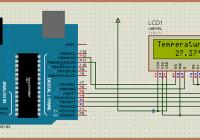 arduino based digital thermometer