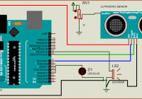 Interfacing Ultrasonic Sensor HC-SR04 with Arduino Uno R3